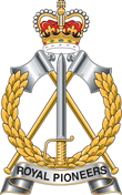 Royal Pioneer Corps Badge